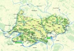 Carte des activit s touristiques parc naturel r gional for Carte touristique yvelines